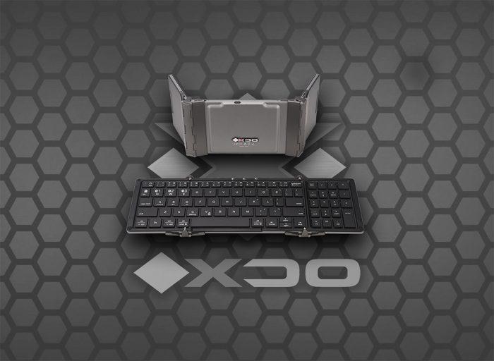 Folding Keyboard-tri-fold